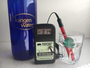 ORP waarde Kangen water
