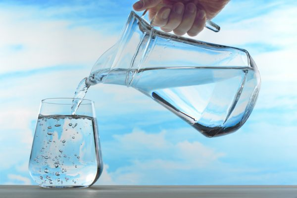 zuiver water drinken